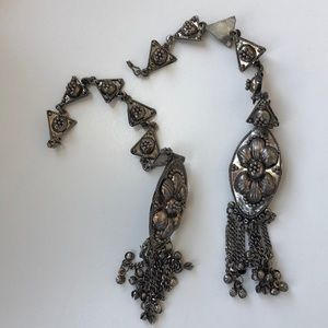 Vintage Indian dangly earring/hair piece